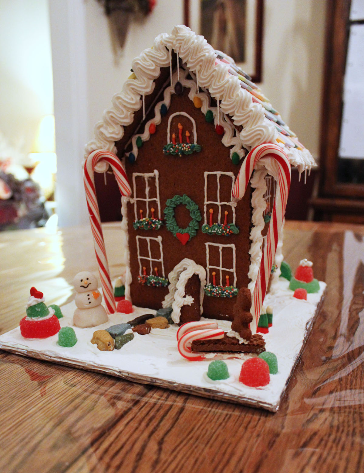 Two Story Gingerbread Houses | My Gingerbread House